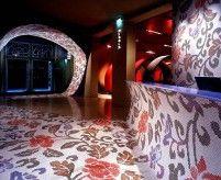 Интерьер отеля в ультрасовременном стиле