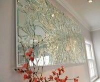 Панно из стекла на стене - 40 фото примеров