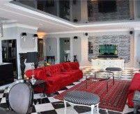 Гламурные интерьеры квартир - роскошь и контраст