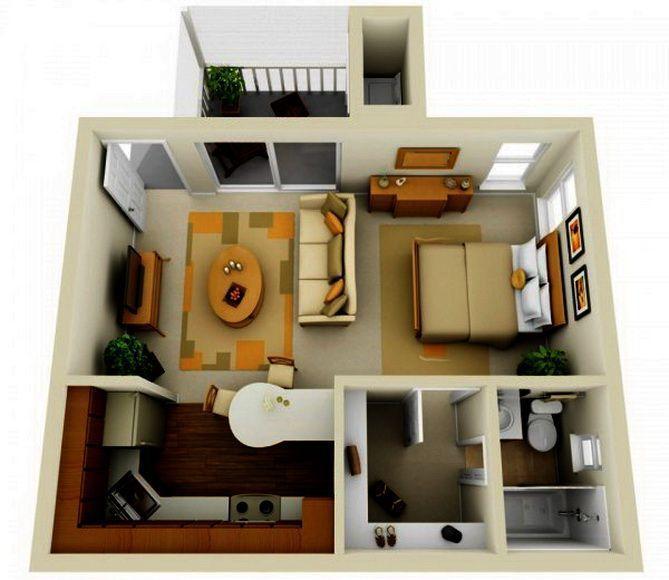 Как сделать удобную планировку квартиры 423
