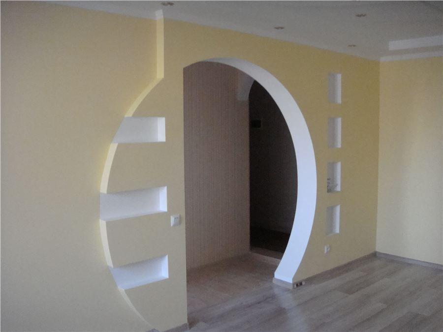 Межкомнатные арки гипсокартона своими руками