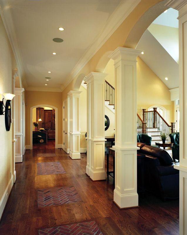 Колонны в интерьере квартиры своими руками