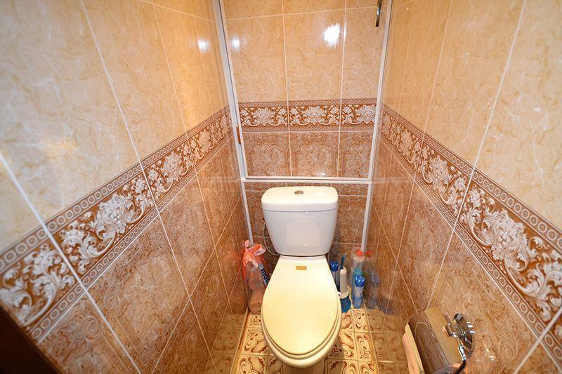 Туалет и ванна из пластиковых панелей своими руками