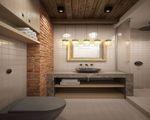 Проекты квартир с кирпичными стенами - Фото интерьеров