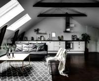 Студия в мансарде, 7 дизайн-проектов интерьеров