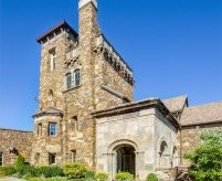 Замок Дромборг в США - современный дом в старинном стиле