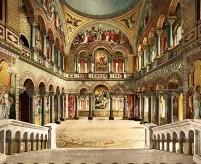 Ношванштайн, Часть 2 - интерьеры залов и комнат замка