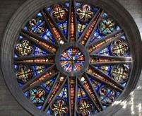 Окно роза в готическом стиле - типы окон, круглые витражи, фото примеры (Часть 1)