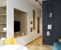 Однокомнатная квартира 29 кв. м с двумя спальными местами (кроватями)