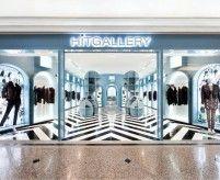 Интерьеры магазинов одежды (бутиков)