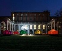 Интерьер экспозиции музея дизайна в Милане
