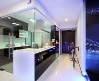 Прихожая совмещённая с кухней, 10 вариантов зонирования - фото и описания