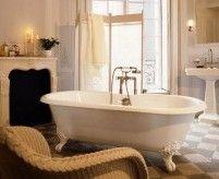 Ванная в английском стиле: от классики до современности