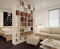 10 вариантов зонирования комнаты перегородками - 40 фото и описание