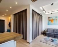 5 проектов однокомнатных квартир с отдельной спальней (+ схемы планировки)