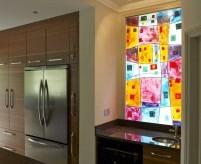 Фьюзинг, декоративное стекло. Технология и примеры применения в интерьере