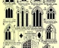 Готическое окно - формы, орнаменты, витражи