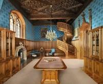 Интерьеры готических замков 19 века, 3 проекта (часть 1)