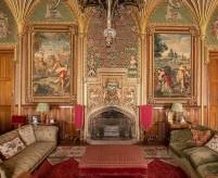 Отделка стен в готическом стиле, примеры, фото, описания