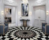 Дизайн круглой комнаты