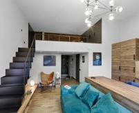 Маленькие квартиры-студии со спальней на втором ярусе (антресоль), 3 проекта