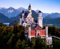 Замок Нойшванштайн. Часть 1 - Внешний облик, история проекта, фото и видео