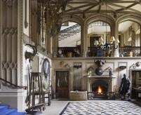 Интерьеры замка Бельвуар, стиль историзм - английские стили