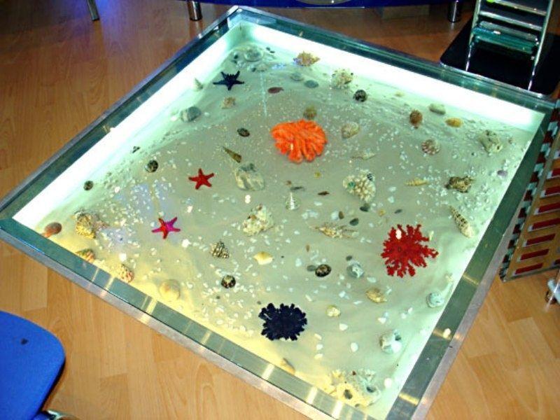сухой аквариум в полу фото увидели старушку
